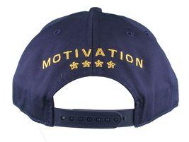 Motivation You Cant Win Naval Navy Blue Snapback Baseball Hat Cap NWT image 4