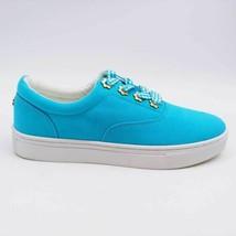 Isaac Mizrahi Live Womens Bobbie Low Top Shoes Blue A353597 Comfort Fabr... - $32.66
