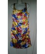 Michele Bohbot Dress Size 14 Bisou Bisou Floral French Party Empire Wais... - $24.99