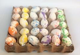 Darice Easter Spring Decor - Paint Splattered Foam Glitter Eggs 30pc. - $15.95