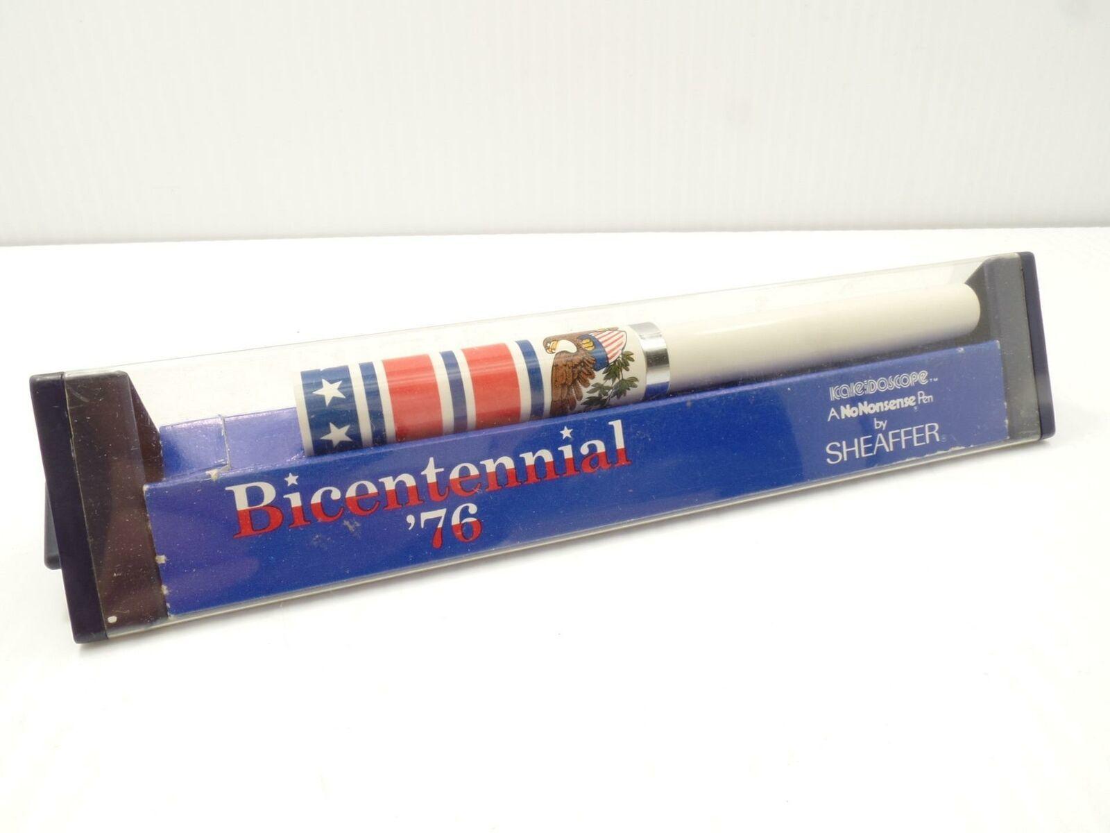 Sheaffer Kaleidoscope A No Nonsense Pen Bicentennial '76 USA Eagle Patriotic Vtg