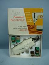 Vintage Singer Professional Buttonholer MIB #102577 In Original Box - $27.32