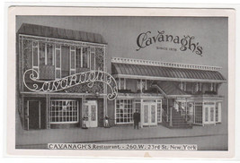 Cavanagh's Restaurant 23rd Street New York City postcard - $6.30