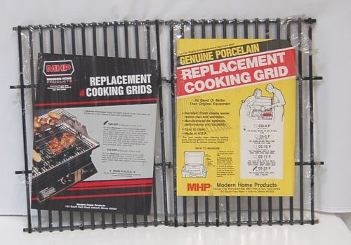 Modern Home Products CG33P Genuine Porcelain Replacement Cooking Grids Set of 2