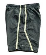"VTG Nike Running Shorts Men's Size Large Green 10"" Inseam - $17.81"