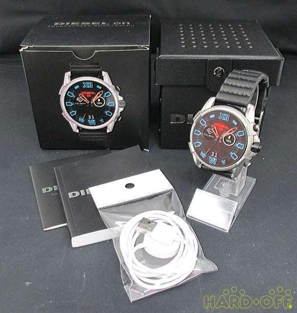 Diesel Touchscreen Smart Watch Cod8373Co664 Dzt2008 Quartz Digital