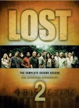 LOST - The Complete Second Season, Season 2, (7 DVD Box Set), 2006, Wide... - $19.99