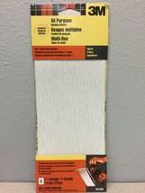 3M 9012NA 11 in. L x 4-1/2 in. W Assorted Grit Aluminum Oxide Sandpaper ... - $4.93