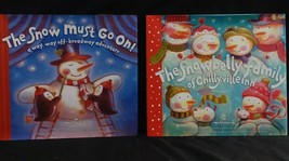 """HALLMARK BOOKS, """"THE SNOW MUST GO ON"""" & THE SNOWBELLY FAMILY OF CHILLYVI... - $18.99"""