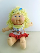 Rare Vintage Cabbage Patch Doll by Xavier Roberts Blonde Hair Dress  - $73.40