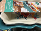 3.6 qt Bakeware The Pioneer Woman Flea Market 2-Piece Ruffle Large casserole set
