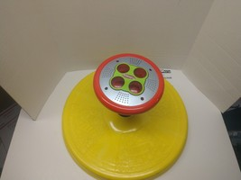 PLAYSKOOL SIT 'N SPIN Music Lights Classic Yellow Red Spinning Toy - $39.00