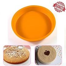 IC ICLOVER Food Grade Silicone Cake Pan 10 Inch Non-Stick Bakeware Round... - $230,16 MXN