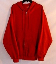 Fruit of the Loom Red Unisex Zip-Up Jacket Size XL - $19.57