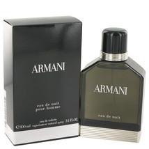 Armani Eau De Nuit by Giorgio Armani Eau De Toilette Spray 3.4 oz for Men - $136.08