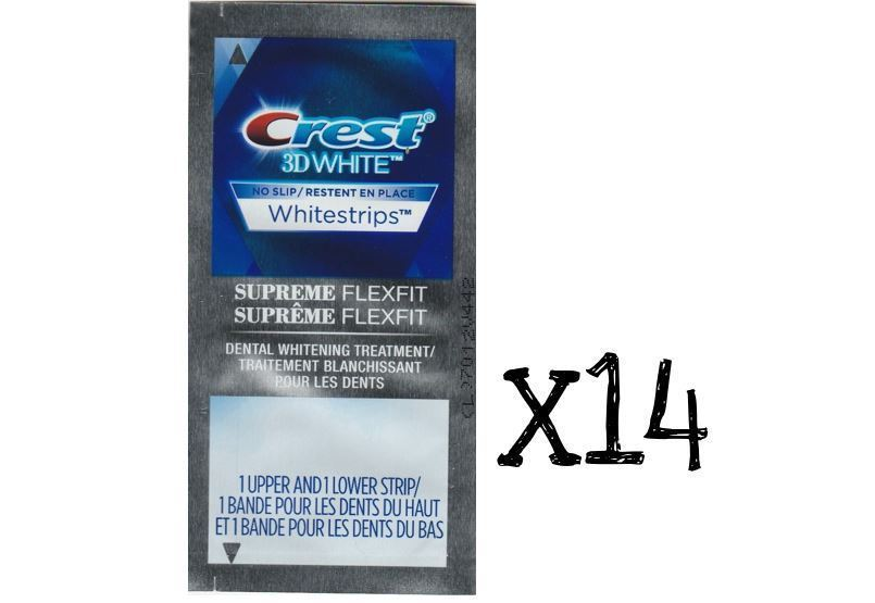 14 Pouches 28 Strips Crest 3d Whitestrips And 50 Similar Items