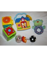 Baby Einstein House Hello Good Bye Spanish Sassy Spin Shine Rattle Lot B... - $13.52