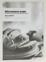 Samsung Microwave Oven Model MS14K6000 Owners Manual User Guide Instruction Book - $9.49