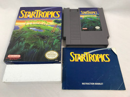 Star Tropics (Nintendo Entertainment System NES, 1990), Complete in Box - $26.59