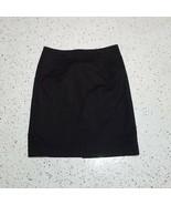 Nue Options Women's Skirt ~ Sz 14 ~ Black ~ Knee Length ~ Lined ~ Cotton - $24.74
