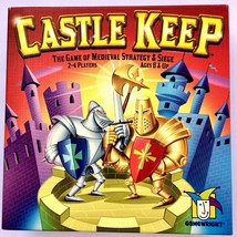 Gamewright Castle Keep The Game of Medieval Strategy and Siege UPC 75975... - $21.58