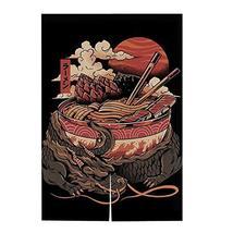 Hornet Park Japanese Style Restaurant Household Kitchen Door Curtain, Ra... - $37.58
