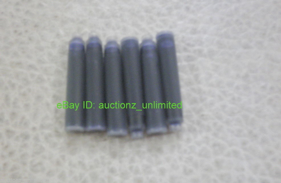 Pierre Cardin 18 Ink Cartridges Blue - Fits Pelikan, Montblanc Fountain Pens New