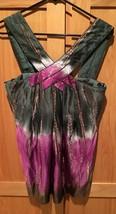 BCBG MAXAZRIA Beautiful Halter Silk Top Women's Sm EUC - $6.88