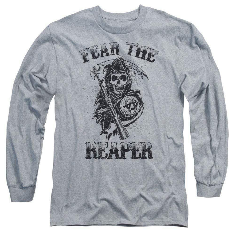 Sons of Anarchy Fear the Reaper graphic long sleeve t-shirt SOA124