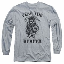 Sons of Anarchy Fear the Reaper graphic long sleeve t-shirt SOA124 image 1