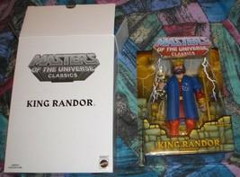 King Randor Filmation MOTUC Masters of the Universe Classics MOSC MOC He... - $60.00