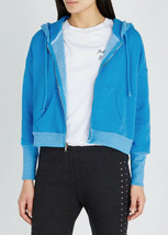 Wildfox Womens Nobody's Angel WFL9847C8 Hoodie Relaxed WLBL Blue Size S - $75.21