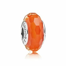Pandora Charm - Fascinating Orange - $50.00