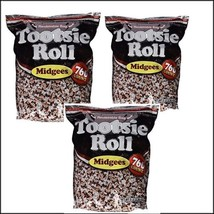 Tootsie Roll Midgees Candy 5 Pound Value Bag 760 Pieces - Pack of 3 - $39.59