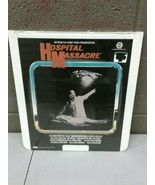 Factory Sealed CED Videodisc Hospital Massacre Rare HTF Horror (dd) (c22) - $46.74