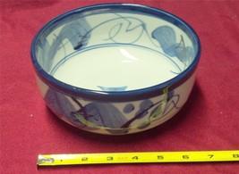 Vintage Japan Flow Flo Blue Bowl - $14.97