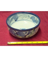 Vintage Japan Flow Flo Blue Bowl - $14.97