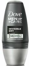 Dove Men Care Invisible Dry Roll On Deodorant 50ml - $12.44+