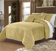 Hotel Collection Bedding,100% Duvet Quilt Cover set 3pc - Mocha - $92.72+