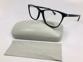 New Calvin Klein CK5883 001 Black Eyeglasses 54mm with Case & Cloth - $59.35