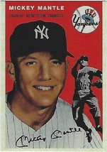 1954 MICKEY MANTLE TOPPS # 259 YANKEES RP BEAUTIFUL CARD EX-MT - $2.84