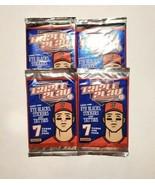 4 PACKS OF TRIPLE Play Cards 7 Cards Per Pack Tattoos Eye Black 28 Total... - $9.95