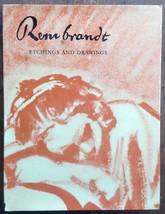 Rembrandt Etchings and Drawings V. V. Stech 1968 Paul Hamlyn HCDJ - $52.15