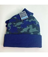 West Loop Hat And Glove Set Boys 4-8yrs Blue Camo Brand NEW - $12.32