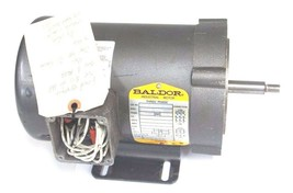 REPAIRED BALDOR CJM3463 INDUSTRIAL MOTOR SPEC 34K39-2719, 0.75HP, 208-230/460V