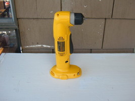 "Dewalt 18V DW960 3/8"" Type 2 Vsr 2-SPD Right Angle Drill Lightly Used Large Base - $116.00"