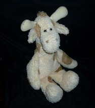 "17"" Boyds Huggle Fluffs Gussie Baby Giraffe Rattle Stuffed Animal Plush Toy - $18.70"