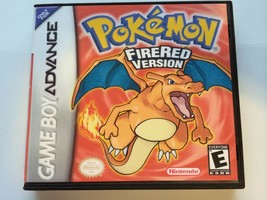 Pokemon Fire Red - GBA - Replacement Case - No Game - $7.91