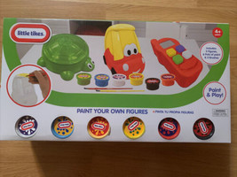 Little Tikes Paint Your Own Figures / Paint and play /Craft / Steam/ Art - $13.99