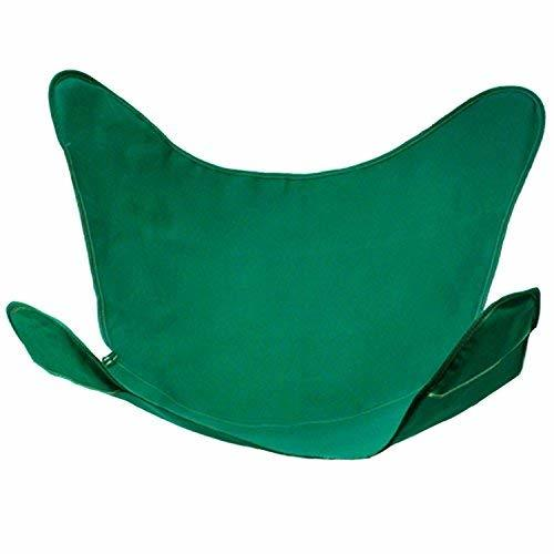 "35"" Green Duck Cotton Replacement Cover for Retro Butterfly Outdoor Patio Chair"
